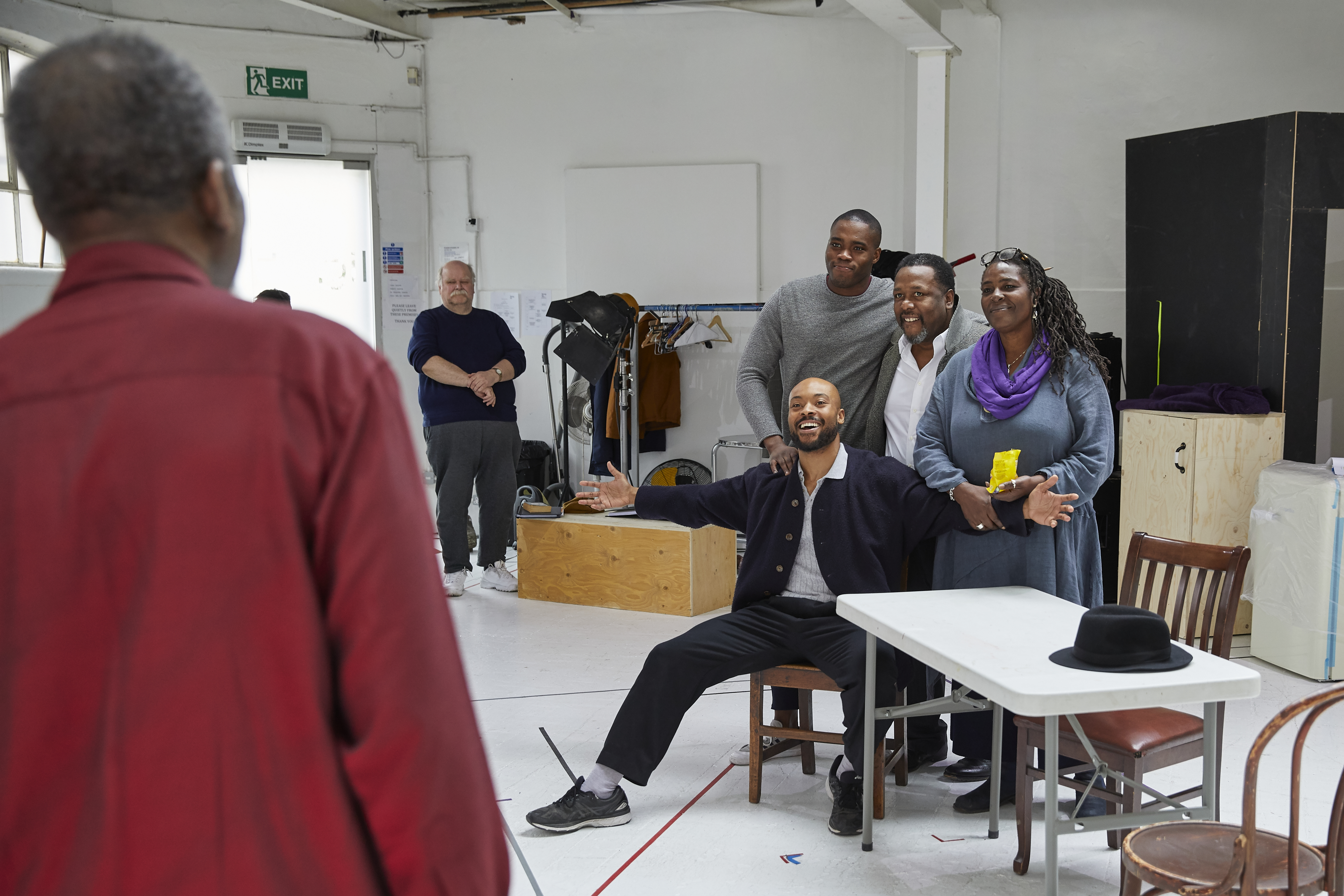 Young Vic</p> <p>DEATH OF A SALESMAN<br /> Rehearsals