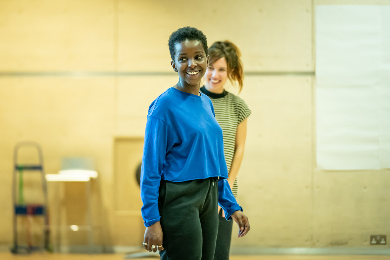 Donna Banya & Esther Smith in rehearsal for Fairview (c) Marc Brenner