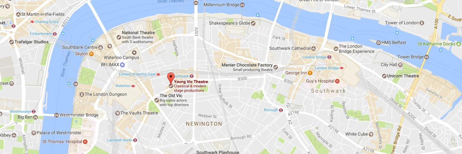 Google Maps Journey Planner >> How To Find Us | Young Vic website