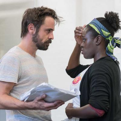 Things of Dry Hours rehearsal room photos by Leon Puplett