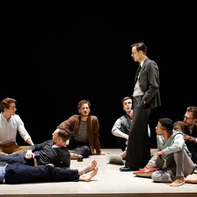 The cast of The Inheritance. Photo by Simon Annand.
