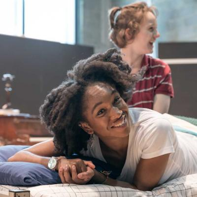 Cherrelle Skeete in rehearsal for Fun Home at the Young Vic. Photo by Marc Brenner