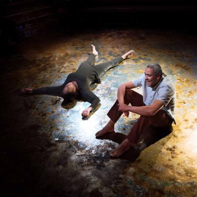 Christopher Colquhoun (Eugene) Nicola Hughes (Alma) in Yellowman © Tatenda Nyamande