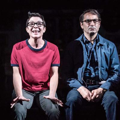 Fun Home production photos by Marc Brenner