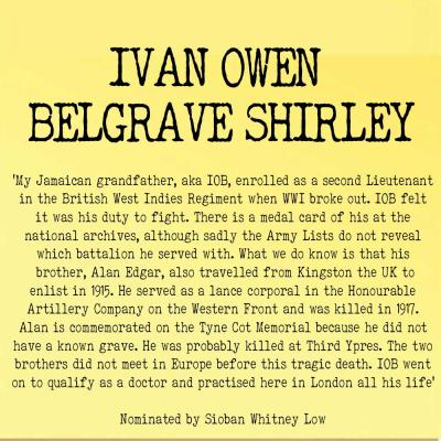 Ivan Owen Belgrave Shirley