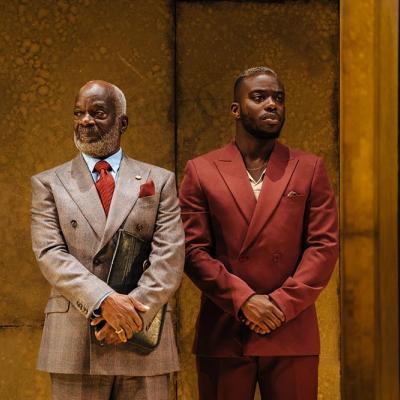 Joseph Marcell and Jonathan Ajayi