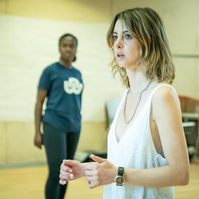 Naana Agyei-Ampadu & Julie Dray in rehearsal for Fairview (c) Marc Brenner