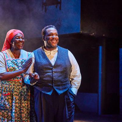 Sharon D. Clarke and Wendell Pierce. Death of a Salesman (c) Brinkhoff Mogenburg
