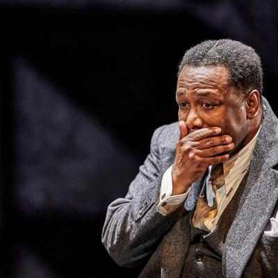 Wendell Pierce. Death of a Salesman (c) Brinkhoff Mogenburg