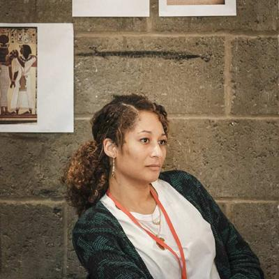 Image of Khadifa Wong, Jerwood Assistant Director during Changing Destiny Rehearsals