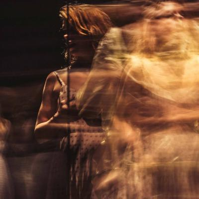 Three times Billie Piper (Her) in Yerma at the Young Vic by Johan Persson