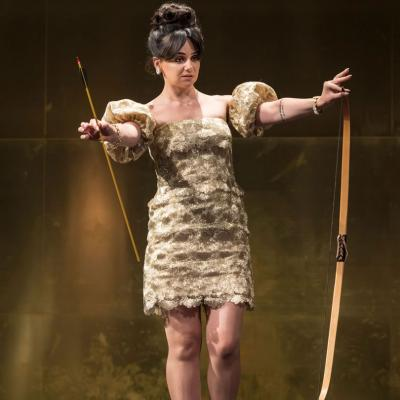 Hayley Squires (Mae) in Cat on a Hot Tin Roof © Johan Persson
