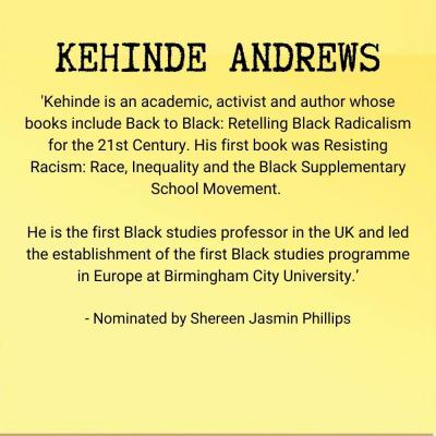Kehindre Andrews