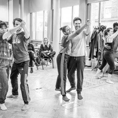 Cast of Nora in rehearsals of Nora in rehearsals © Marc Brenner