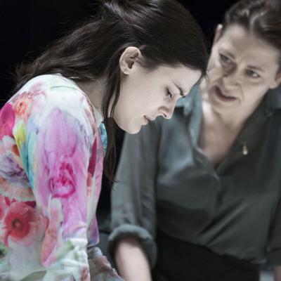 Phoebe Fox and Nicola Walker. Photo by Jan Versweyveld