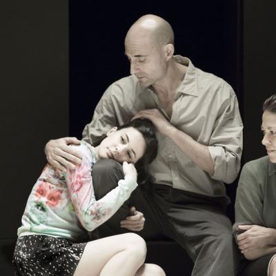 Phoebe Fox, Mark Strong and Nicola Walker. Photo by Jan Versweyveld