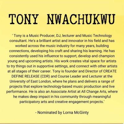 Tony Nwachukuw