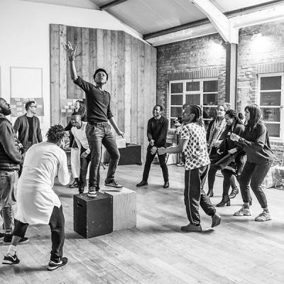 Workshop for Tree at the Young Vic. Photo by Marc Brenner.