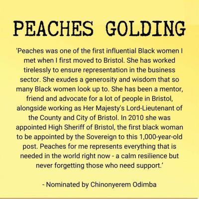 Peaches Golding