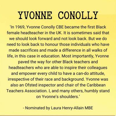 Yvonne Conolly