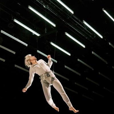 Juliet Stevenson in Wings at the Young Vic. Credit Johan Persson.