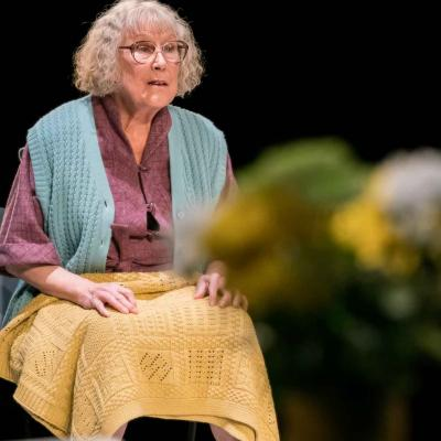 Mary Sheen in Wings at the Young Vic. Credit Johan Persson