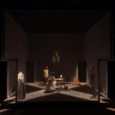 The Convert at the Young Vic. Photo by Marc Brenner.