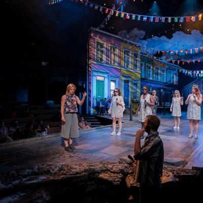 Twelfth Night Community Chorus. Photo by Leon Puplett
