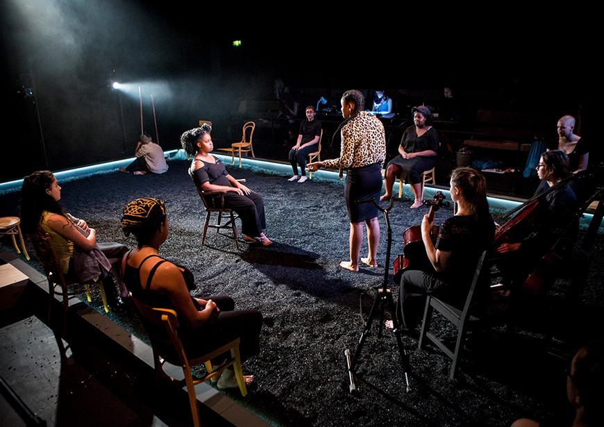Photo from parallel Yerma. By Helen Murray.