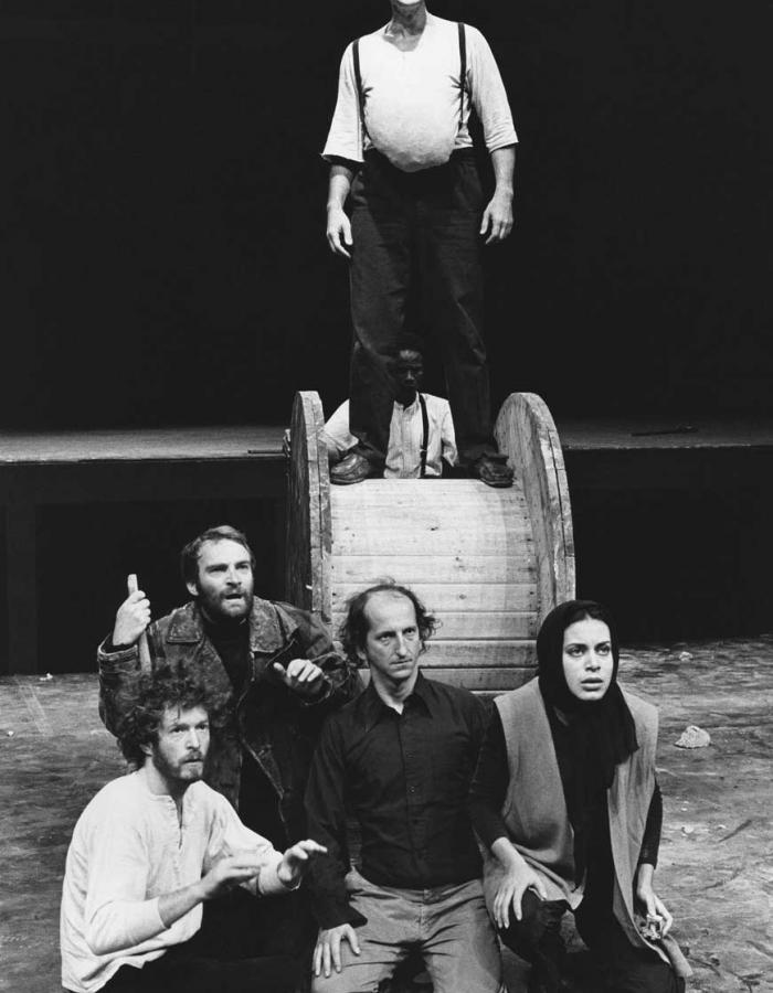 Peter Brook's production of UBU ROI by Alfred Jarry (1978)