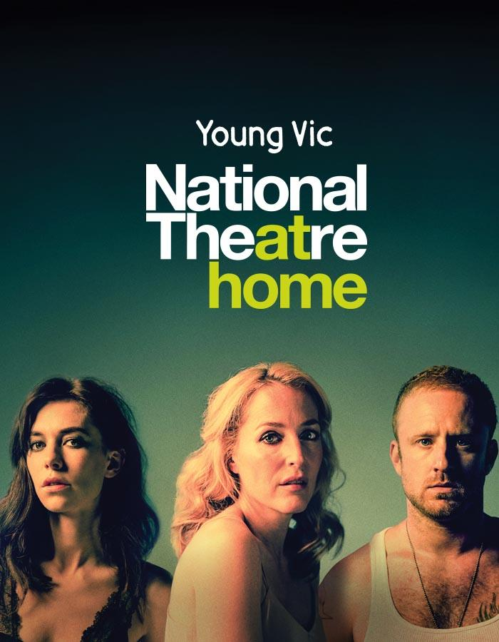 Portrait of the three lead actors of the Young Vic's A Streetcar Named Desire