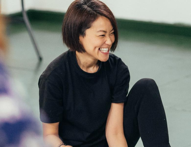 Jennifer Tang in rehearsals. Photo by Ikin Yum
