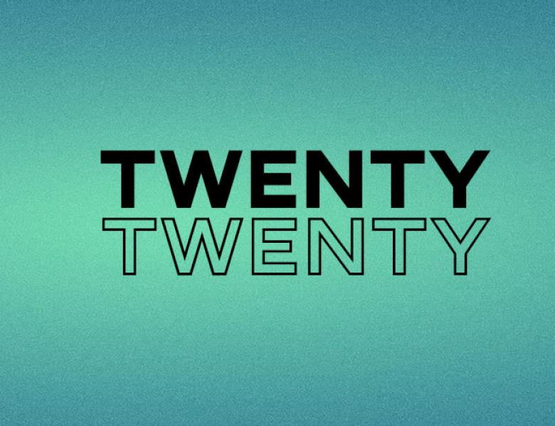 TWENTY TWENTY Title Artwork