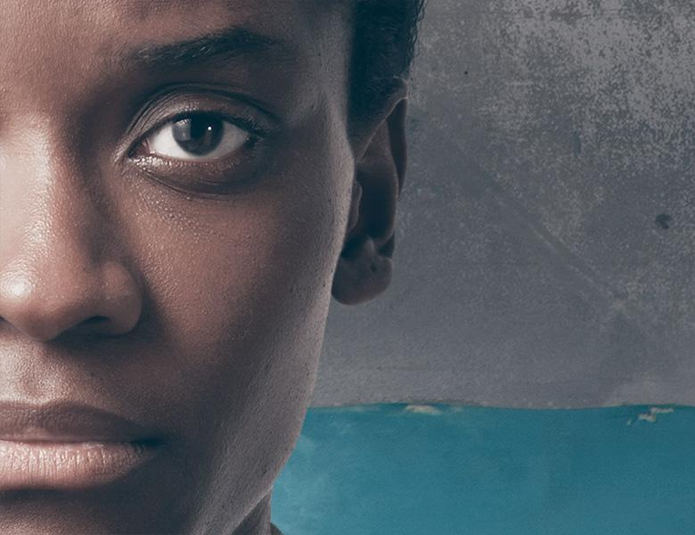 Letitia Wright as Jekesai in Danai Gurira's The Convert